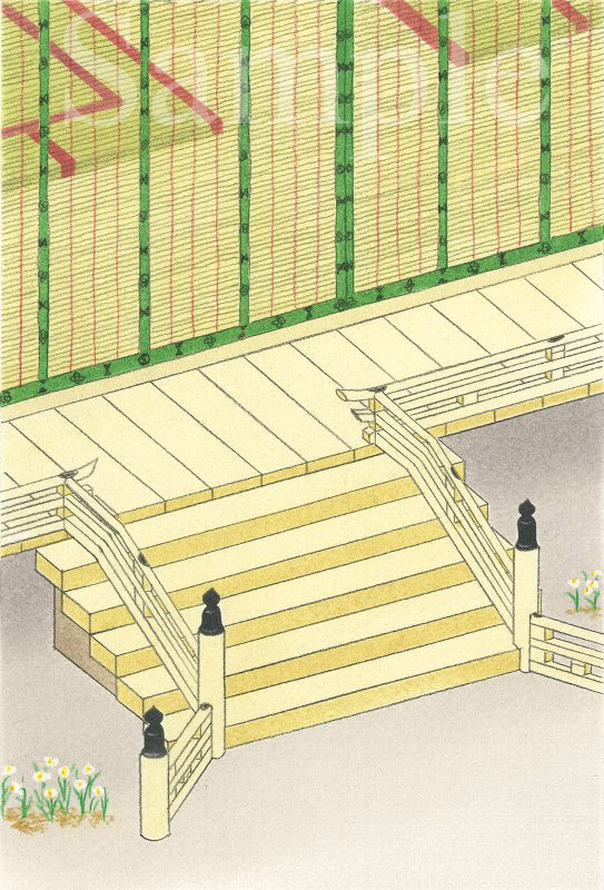 平安《色鉛筆》 (22cm×15cm)