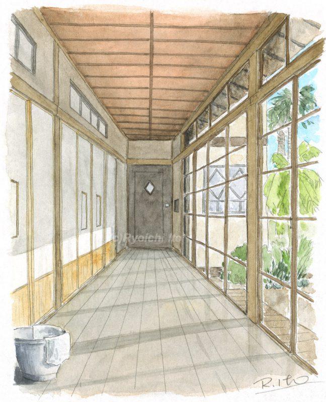 オリジナル「廊下の記憶」