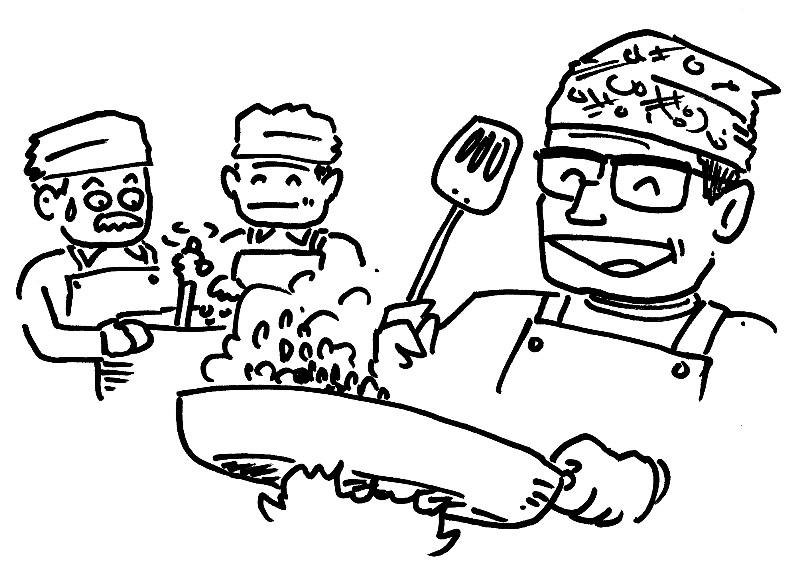 男の料理教室散らし用